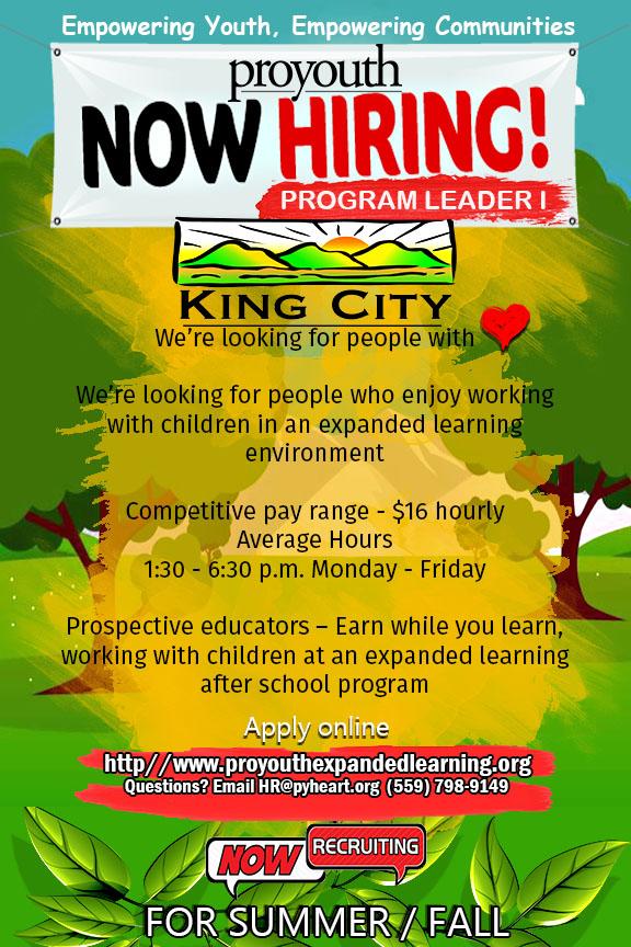 Program Leader I